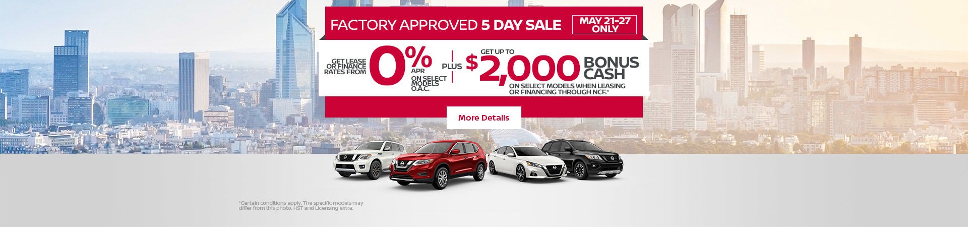 Nissan Event (5 DAYS)