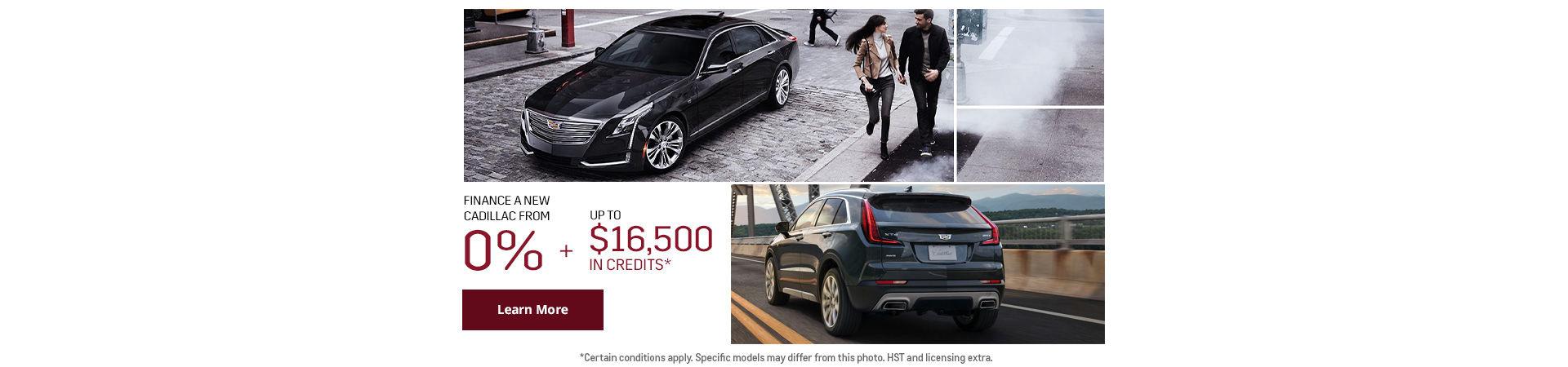 Cadillac Sales Event