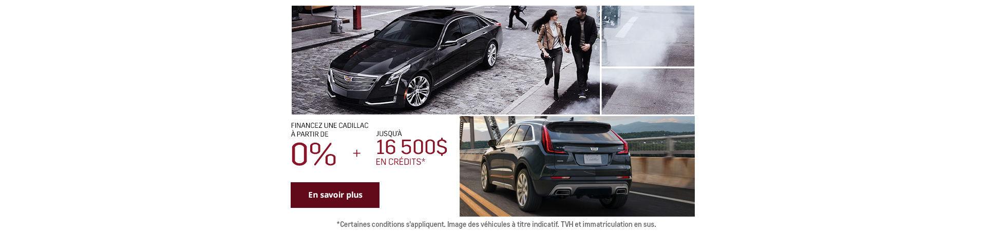 L'événement mensuel Cadillac