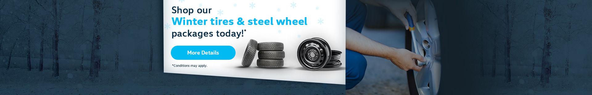 Winter Tires / Wheels promos