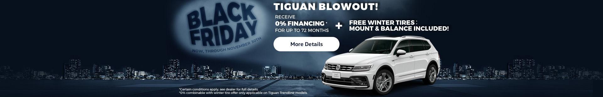 Turner Volkswagen's Black Friday Event!