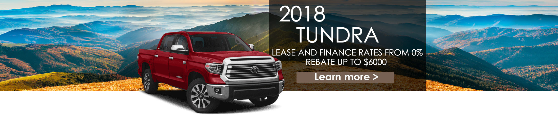 2018 Tundra Banner