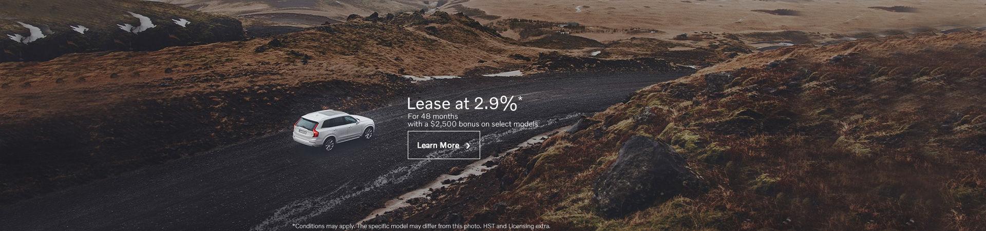 Volvo Monthly sales event.