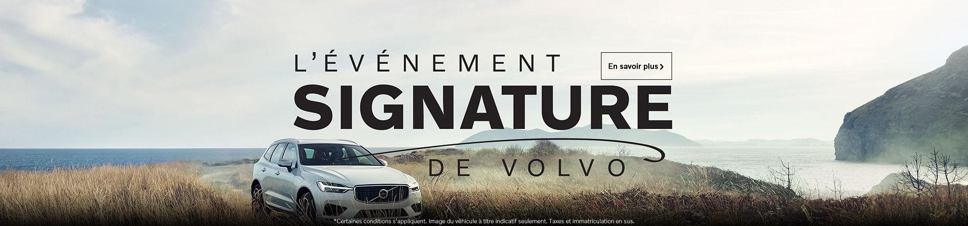 L'événement mensuel Volvo