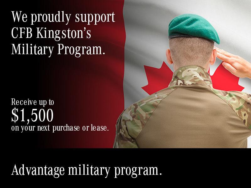 Advantage military program.