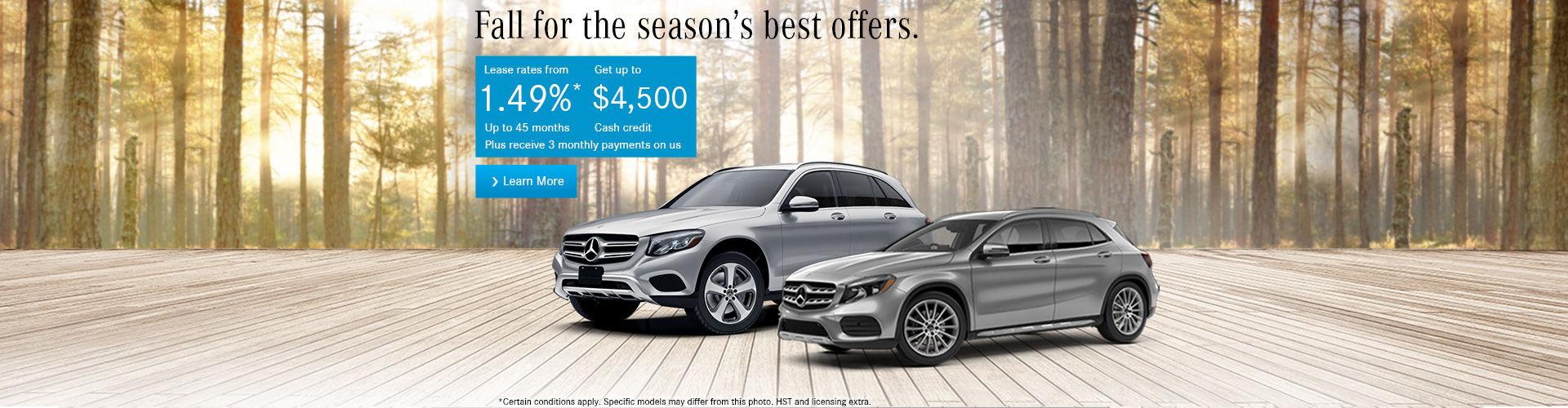 Mercedes Sales Event!