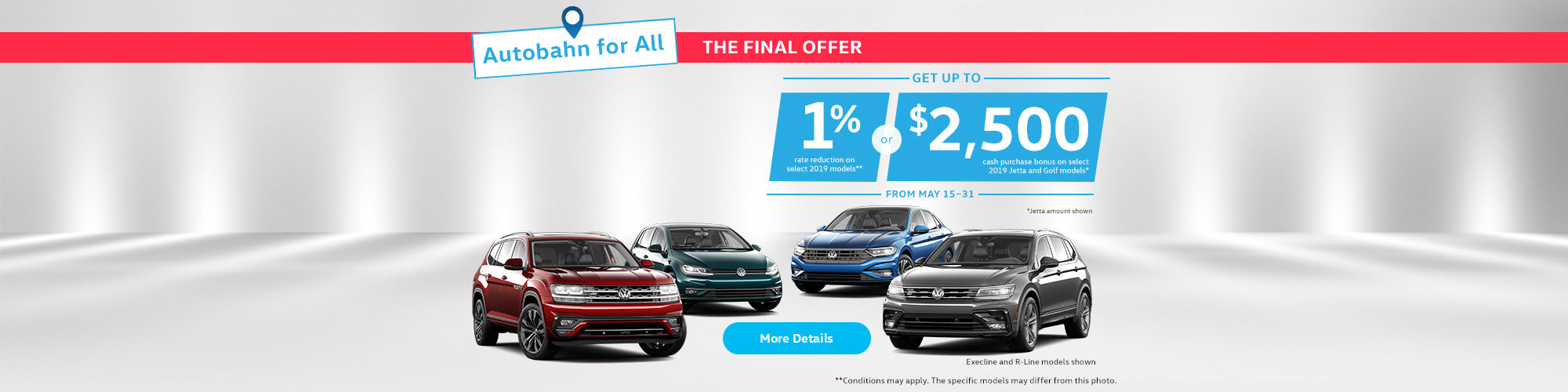 The Volkswagen Final Offer