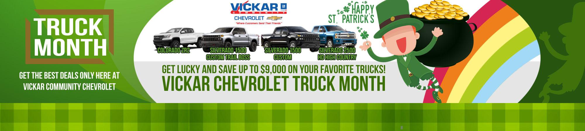 Vickar Chevrolet St Patrick - WEB
