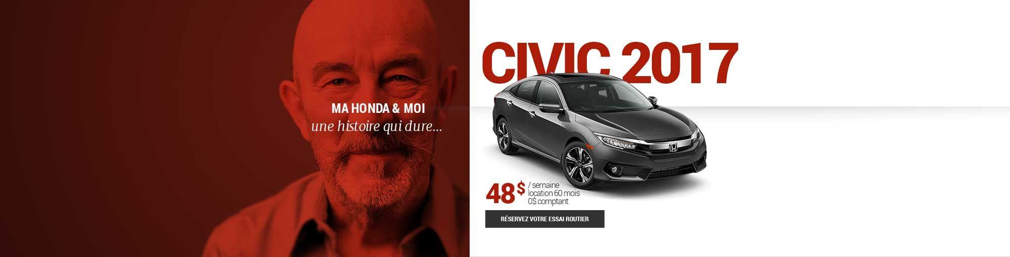 Civic 2017 - mai-juin-juillet 2017