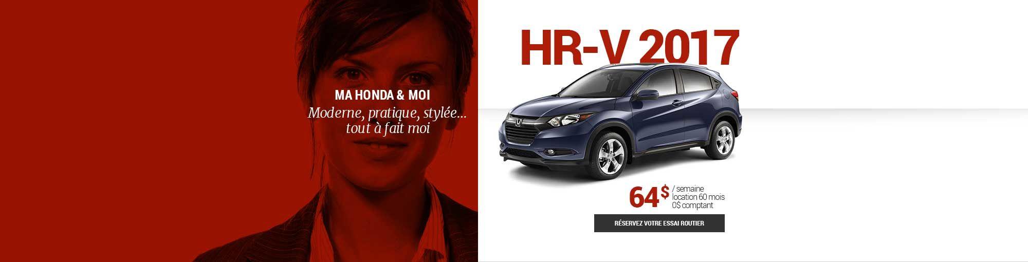 HR-V 2017 - mai-juin-juillet
