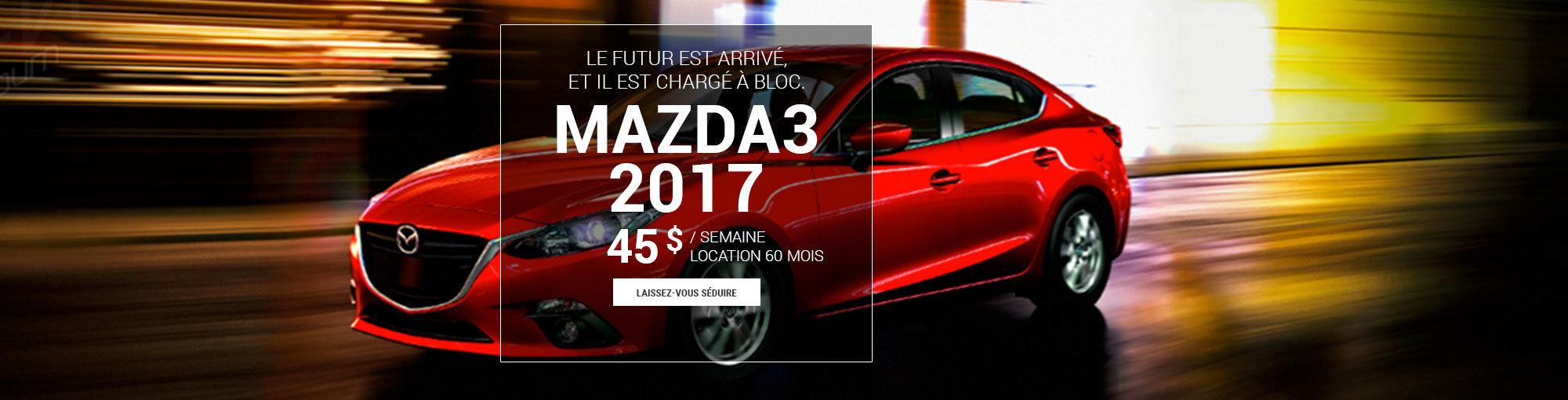 Mazda3 2017 - mai 2017