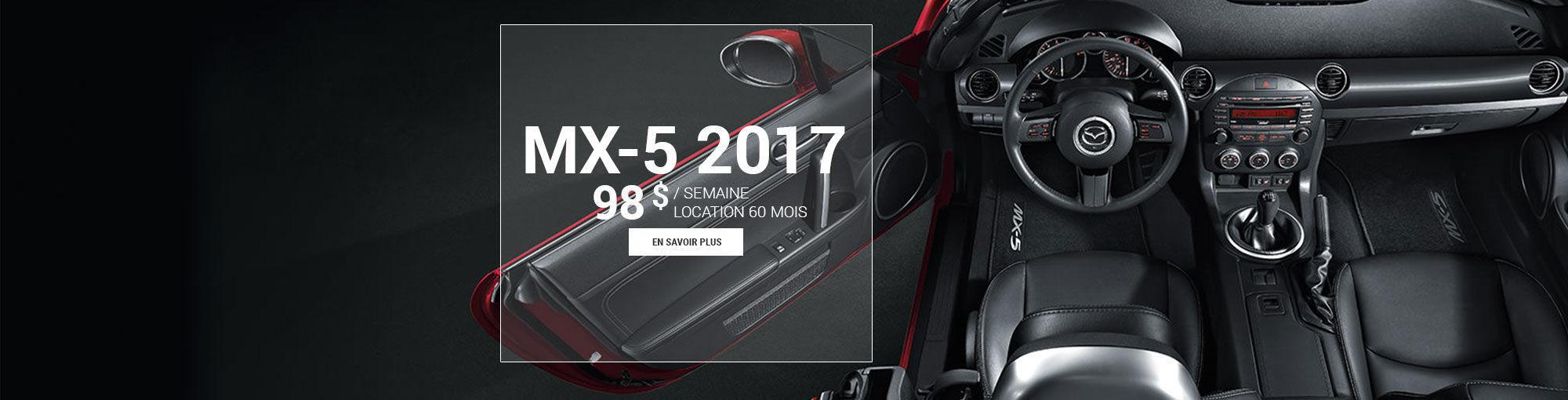 Mazda mx-5 2017 - mai 2017
