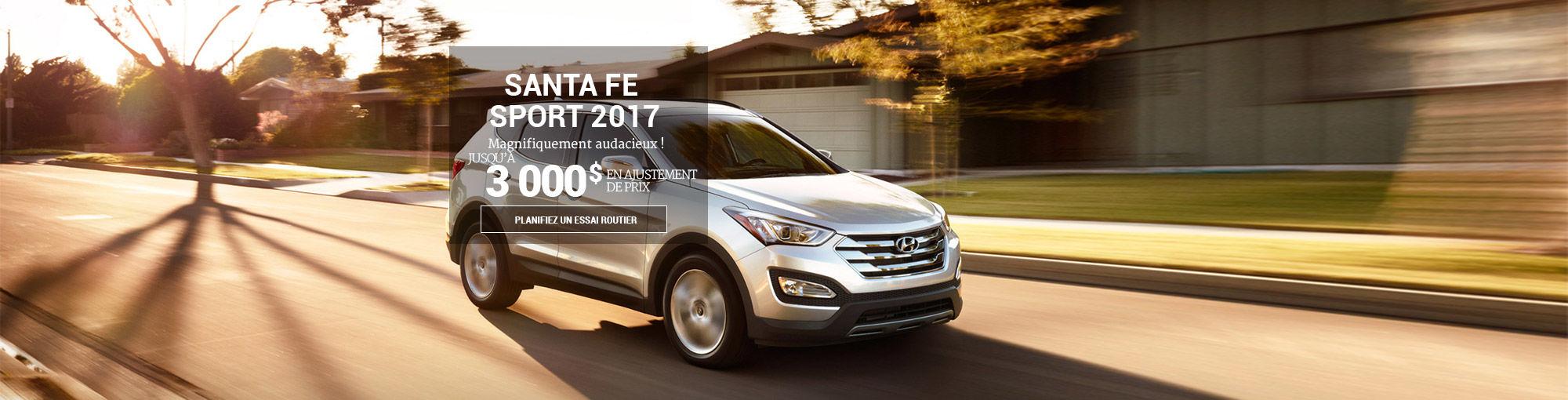Hyundai Santa Fe Sport 2017 juin