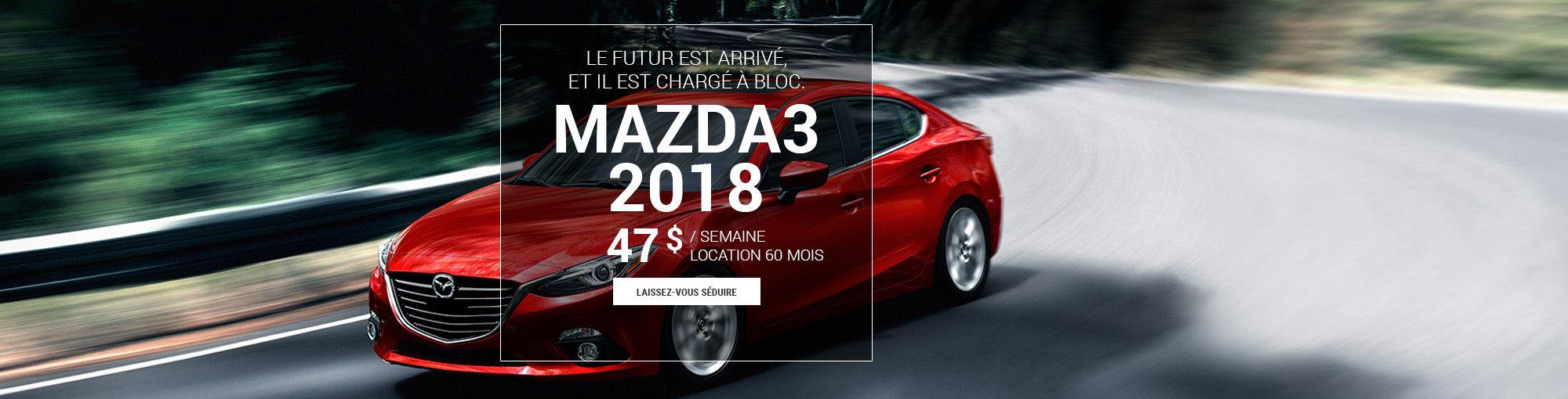 Mazda3 2018 - sept 2017
