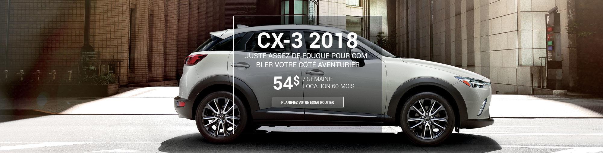 CX3 2017 - sept 2017