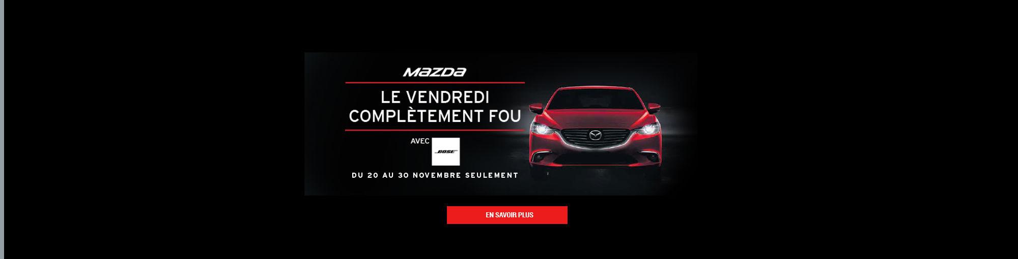 Mazda Header Vendredi Fou 2017 #2