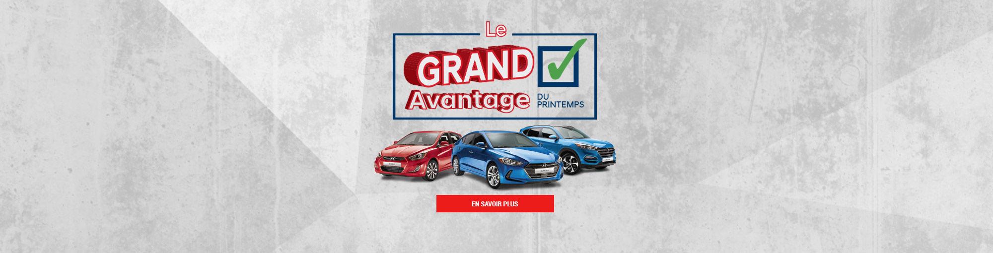 Grand Avantage Printemps 2018 Main Header Avril 2018