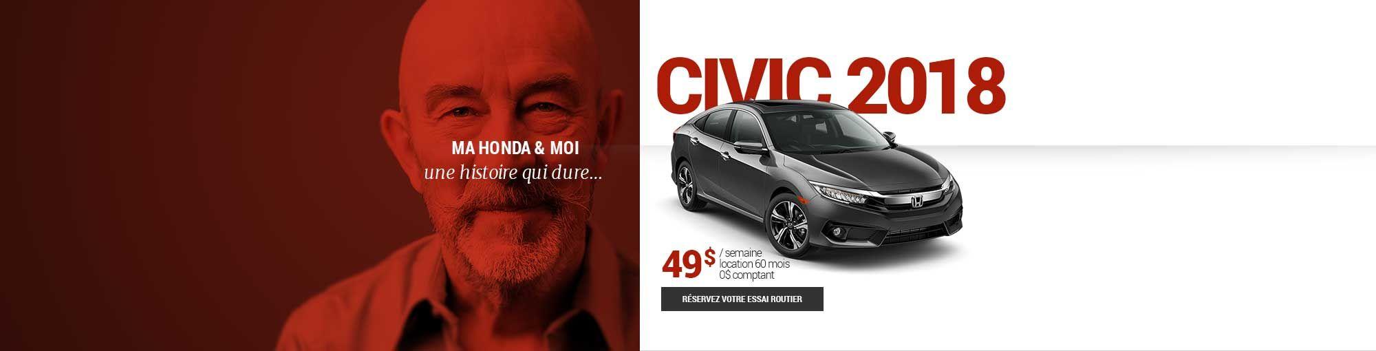 Civic 2018 - mai 2018