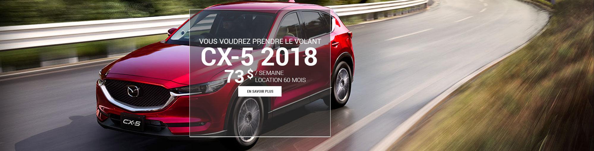 CX5 2018 - mai