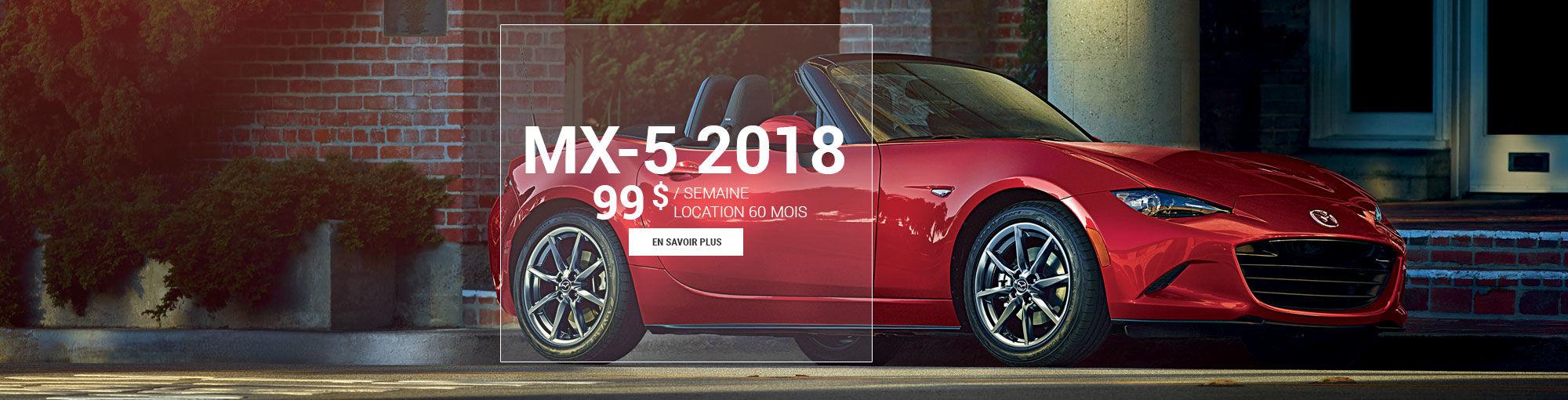 Mazda mx-5 2018 - mai