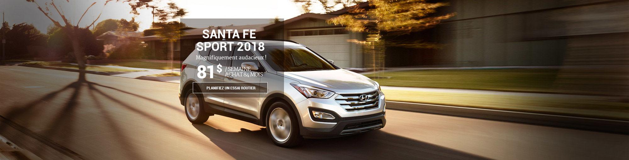 Hyundai Santa Fe Sport 2018 juin
