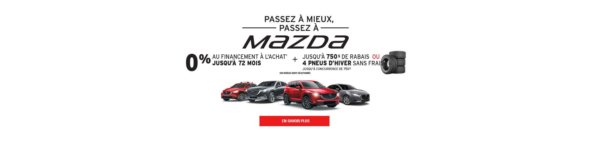 SEPTEMBRE_0% financement achat  Main Header MAZDA