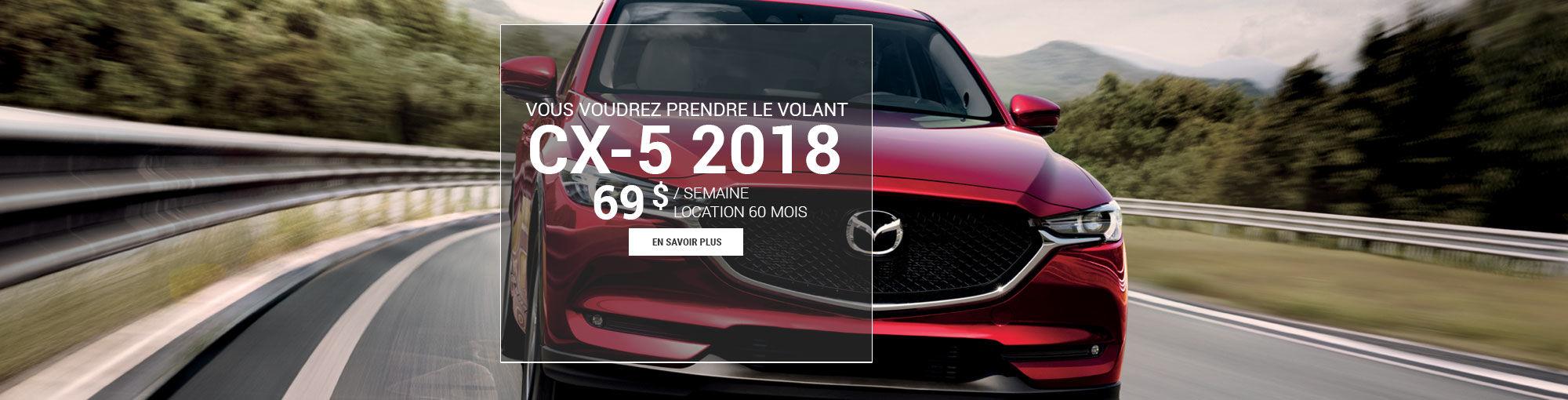CX5 2018 - septembre
