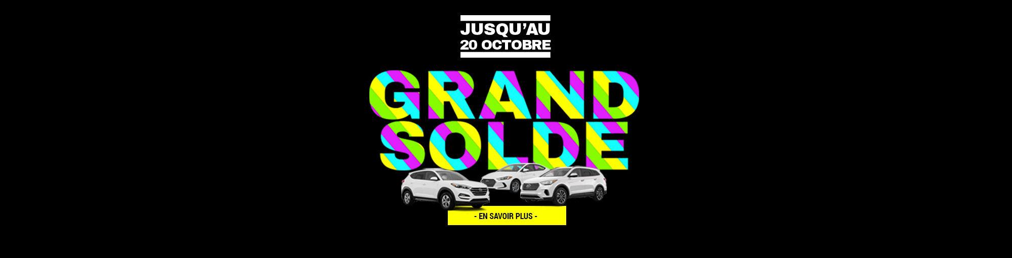 GRAND SOLDE automne 2018 GROUPE VINCENT header Hyundai Shawinigan_1