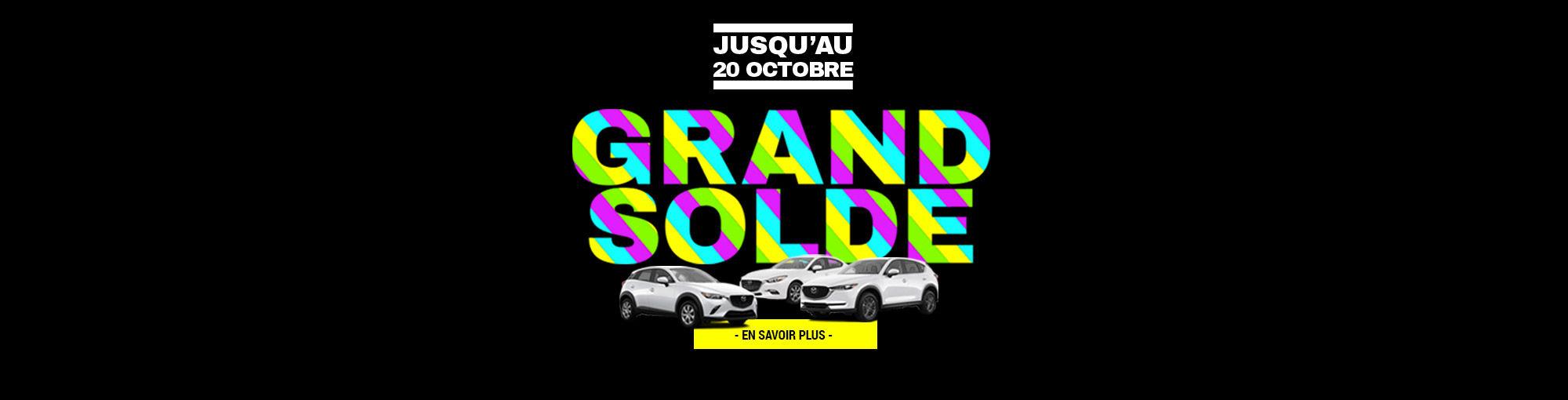 GRAND SOLDE AUTOMNE 2018 GROUPE VINCENT header Mazda_1