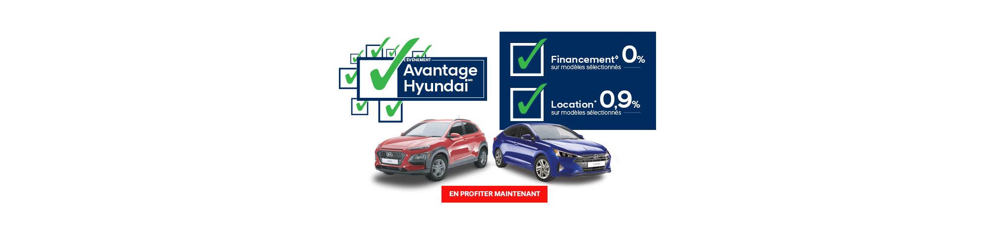 Main Header Hyundai- mars 2019 Avantage Hyundai