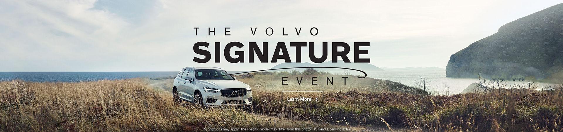 Volvo's monthly sales event