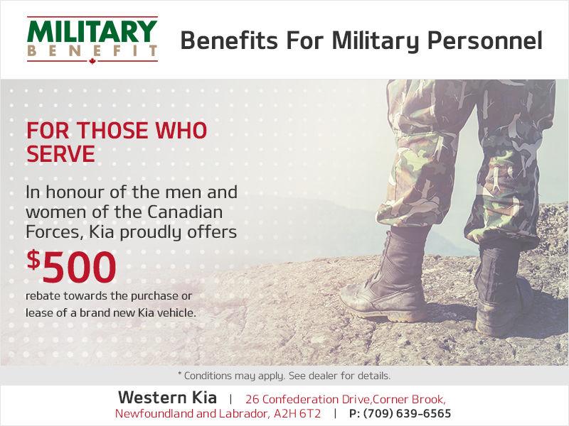 Military Benefit Program