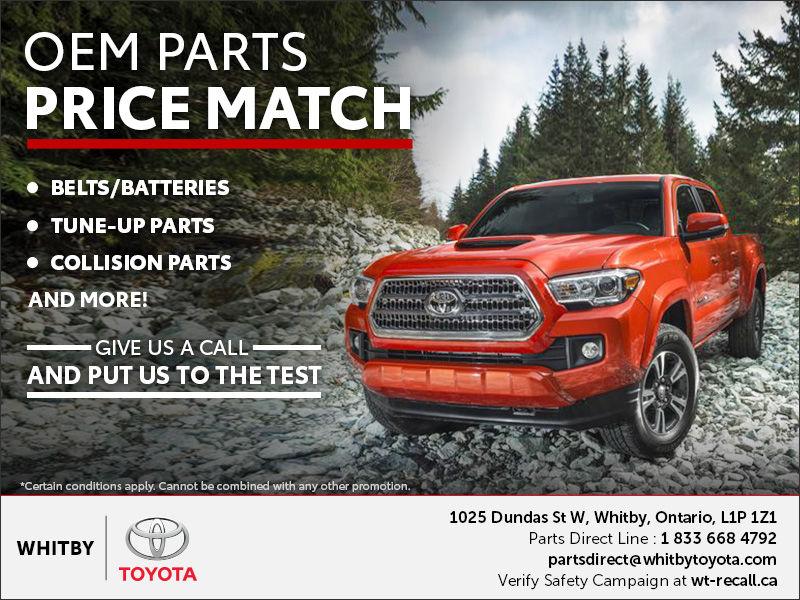 OEM Parts Price Match