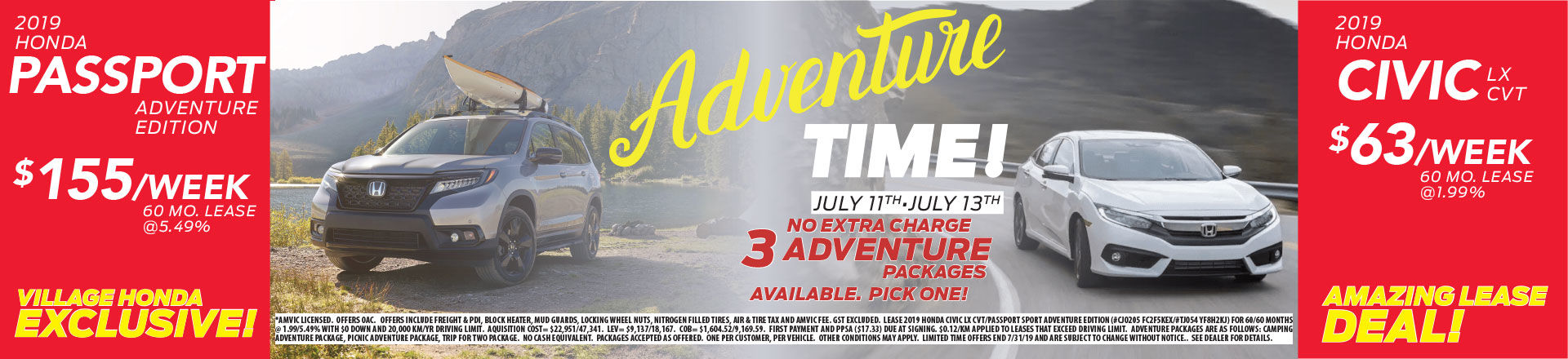 ADVENTURE EVENT