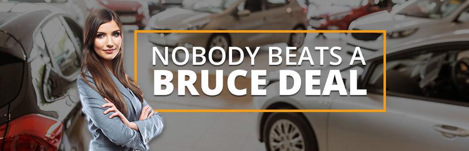 Nobody Beats a Bruce Deal
