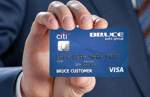 Bruce Citi Card