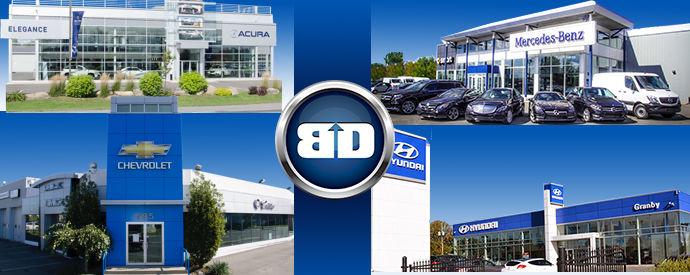 Concessionnaire Mercedes-Benz, Hyundai, Chevrolet, Buick, Cadillac, GMC, Acura à Granby