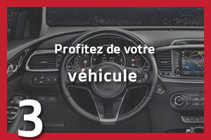Profitez de votre véhicule