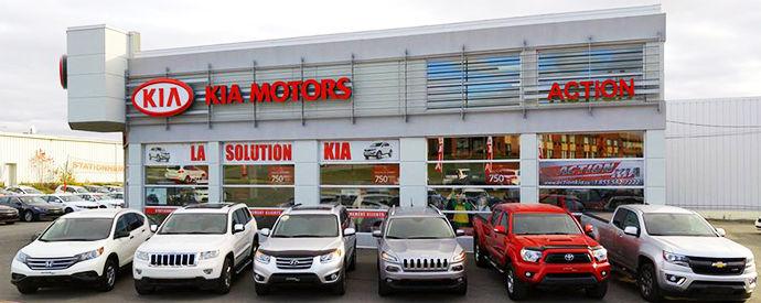 Kia dealership in Rouyn-Noranda