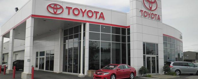 Toyota dealership in Alma