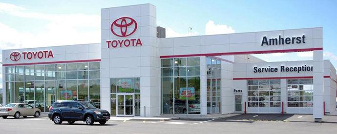 Concessionnaire Toyota à Amherst