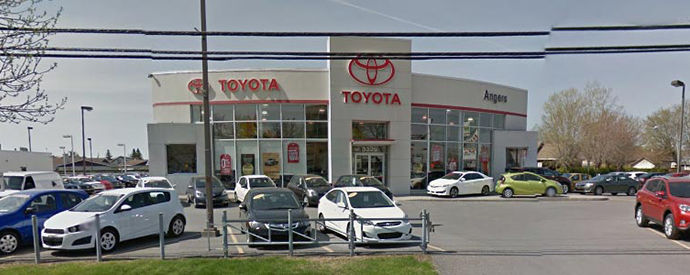 Concessionnaire Toyota à Saint-Hyacinthe