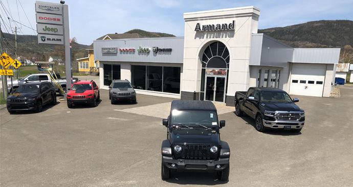 Concessionnaire Jeep, Chrysler, Dodge, RAM à Carleton