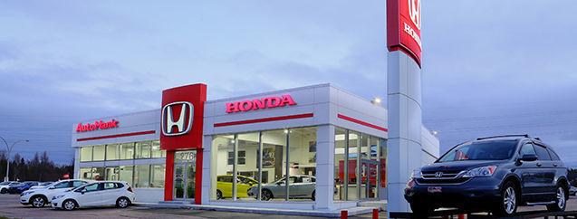 Honda dealership in Baie-Comeau