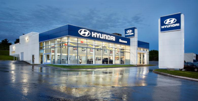 Hyundai dealership in Saint-Georges