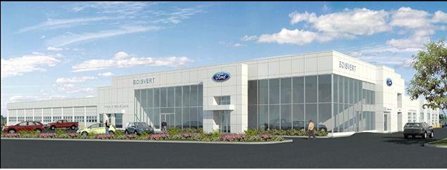 Ford dealership in Boucherville