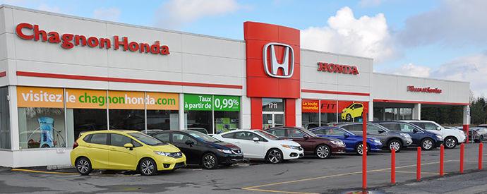 Honda dealership in Granby