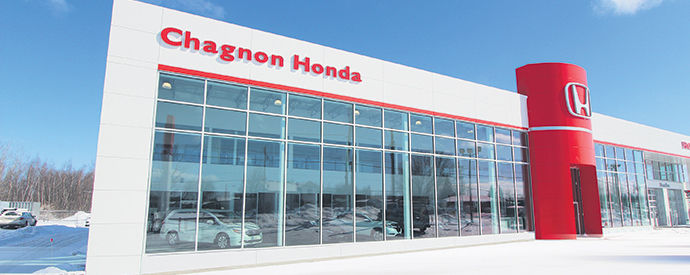 Honda dealership in Granby
