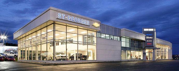 Concessionnaire Chevrolet, Buick, Cadillac, GMC à Saint-Georges
