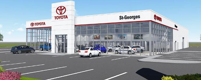 Concessionnaire Toyota à Saint-Georges